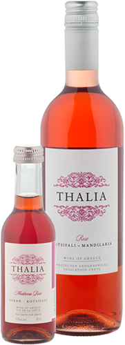Thalia Rose Wine Bottles